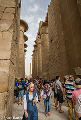 090504 Karnak-21.jpg (Bruce Batten) Tags: monumentssculpture people egypt subjects businessresearchtrips trips occasions locations luxor eg