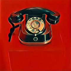 telephone (Leo Reynolds) Tags: xleol30x prisma phone telephone