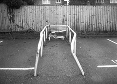 Trolleyed (Jim Davies) Tags: bw west film monochrome 35mm oxford boingboing samurai analogue halfframe yashica 18x24 100asa compact x30 expiredfilm deancourt botley promax subminiature submini ox2 northhinksey westoxford veebotique filmfilmforever double35