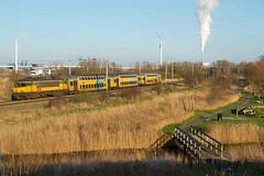 NSR 1736 + DD-AR 7377 (4855) (Durk Houtsma.) Tags: ass haarlem amsterdam ns nederland noordholland sloterdijk uitgeest ddar geuzenveld 1736 4855 nsreizigers