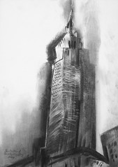 Empire State Building 2014 by Stephen B Whatley (Stephen B Whatley) Tags: thanksgiving nyc newyorkcity usa ny art architecture time drawing manhattan 5thavenue thanksgivingday expressionism empirestatebuilding charcoaldrawing timemagazine barackobama blueribbonwinner whatley bwartaward stephenbwhatley artofimages e37thstreet newyorkdrawing flickrunitedwinner artiststephenbwhatley stephenwhatley thanksgivingday2014 drawingsofnyc paintingsofnyc