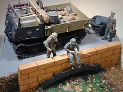 RSO Steyr (CachoR) Tags: germany military wwii worldwarii german militar alemania diorama maqueta steyr scalemodel worldwartwo alemn segundaguerra tractocamin raupenschlepperost trackedtractor
