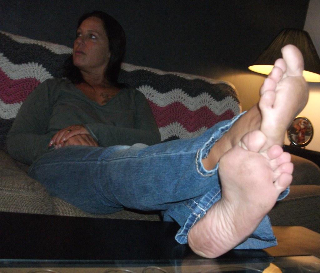 Similar mature foot fetish