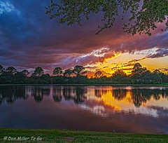 Golden Hour (DonMiller_ToGo) Tags: venice sunset sky lake fall clouds landscape florida lakes sunsets g5 skyscapes hdr goldenhour skycandy 4xp hdrphotography 4exposures millerville skypainter myflorida sunsetmadness sunsetsniper