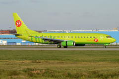 S7 Airlines, VP-BUG, Boeing 737-86J (Anna Zvereva) Tags: plane airport aviation airbus boeing spotting dme domodedovo  uudd