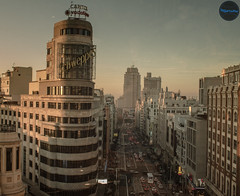 Street Gran Via, Madrid, Spain (Javier Balanzat Duque) Tags: madrid street españa avenida calle spain bonito paisaje via spanish gran bsfilms