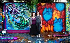 Fame Yard with Jennifer Korsen (lucidRose) Tags: california streetart art la mural heart alien goddess urbanart melrose faery spraypaint mutant mermaid thirdeye korsen femaleartists lucidrose chelsearosearts muralsandgirls fameyard jenniferkorsen