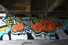 graffiti amsterdam (wojofoto) Tags: amsterdam graffiti streetart wojofoto hof amsterdamsebrug flevopark jelis wolfgangjosten nederland netherland holland