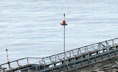 Cone, Birnbeck Pier (technodean2000) Tags: pier mare traffic cone super weston birnbeck