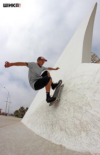 Ricardo Monsalve Wallride a fakie - Viña del Mar