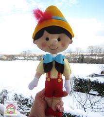 <3  Pinóquio .... (sweetfelt \ ideias em feltro) Tags: feltro crianças festas pinóquio decoraçãobonescos