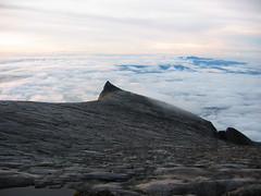 View From the Summit of Mount Kinabalu