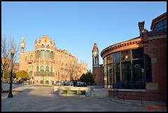 Barcellona - Ospedale San Paul 08 (BeSigma) Tags: travel nikon viaggio barcellona cattedrali d600 chiese 24120 monasteri