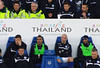 Leicester bench