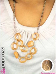 5th Avenue Yellow Necklace K2A P2320-2
