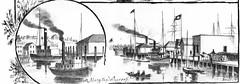 Port Townsend - Along the Warves (WA State Library) Tags: history washington porttownsend wt washingtonterritroy