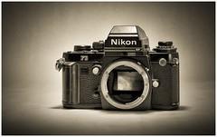 The Old & The New (sorrellbruce) Tags: bw nikon fuji nostalgic nikonf3 silverefexpro lightroom5 fujixe2 fuji56mmf12r