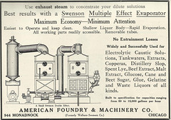 American Foundry _ Machinery Co (2) (Kitmondo.com) Tags: old colour history industry work vintage magazine advertising photo industrial factory technology tech working machine advertisement equipment business company machinery american advert labour historical kit oldequipment publication metalworking oldadvert oldmagazine oldwriting vintageequipment oldadvertisment oldliterature vintagepublication oldpublication machinerypublication