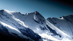 Jagged Beauty (Celtic-Wanderer) Tags: mountain snow ice landscape switzerland nikon rocks jagged peaks jungfrau berneseoberland d5000
