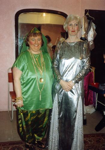 1992 Ali Baba 07 (from left Margaret Fielding, Joan Carr)