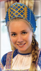 Russian Folk Dancer (joe.routon) Tags: travel woman dance costume russia folk dancer russian routon