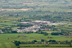 Ballylanders 2 (Dave G Kelly) Tags: ireland colour rural landscape outdoors countryside village farm farming aerialview limerick elevatedview colimerick ballylanders