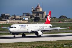 Turkish Airlines --- Airbus A321 --- TC-JMJ (Drinu C) Tags: plane aircraft aviation sony airbus dsc turkish mla a321 turkishairlines lmml tcjmj hx100v adrianciliaphotography