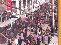 Lhasa Street Scene