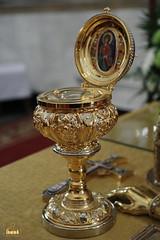 14. Ковчег с частицей святых мощей великомученика и Пантелеимона Целителя