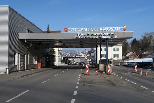 Schaanwald - Swiss Customs