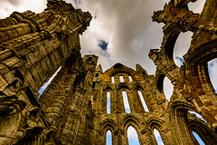 Whitby Abbey (Mister Electron) Tags: uk england church abbey coast sandstone yorkshire religion perspective ruin christian monastery whitby northyorkshire monastic whitbyabbey convergingverticals nikond800
