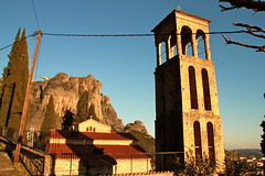 Church of the Virgin Mary (quiggyt4) Tags: winter sunset sky mountain snow mountains church nature architecture greek haze ancient worship dusk earth magic religion surreal eu monk historic greece lotr monastery fantasy valley santaclaus lordoftherings unreal virginmary orthodox troika byzantine meteora easternorthodox eurogroup kalambaka ronpaul monasteries agiosnikolaos santostefano kalampaka ows kastraki greatmeteoron bailout gameofthrones kalabaka varlaam agiatriada thessaly roussanou occupy drachma agiosnikolaosanapafsas eurozone syriza greatmeteora tsipras earthporn occupywallstreet