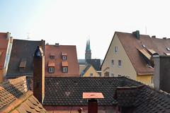 Nuremberg rooftops (Francisco Anzola) Tags: roof germany bayern deutschland bavaria spires nuremberg tiles nrnberg