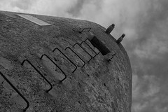 Formentor Tower (davo.pineros) Tags: blackandwhite bw tower monochrome blackwhite spain bwphotography formentor palmademallorca balearicislands