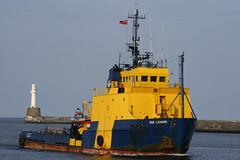 BUE Lismore (calzer) Tags: red june evening energy ship bue vessel standby aberdeen duster oil lismore aberdeenharbour footdee fittie errv