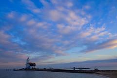 Paard van Marken (Sofie Vaerten) Tags: sunset lighthouse holland netherlands landscape unesco workshop bluehour vuurtoren marken landschap ijselmeer schiereiland leefilter paardvanmarken blauwuurtje triggertrap