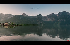 Tranquility (pRaTuL rAgHaV) Tags: light mountains reflection sunrise landscape austria nikon first nikkor boathouse d800 uwa hallstatt ultrawideangle f28g mountainscapes 1424mm