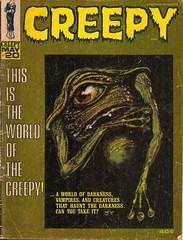 Creepy No. 20 (Warren 1967) (Donald Deveau) Tags: magazine aliens creepy warren waroftheworlds
