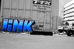 Grafitti (Littlerailroader) Tags: railroad train grafitti newengland trains andover railroads newenglandrailroads andovermassachusetts andovermassachusettspolice