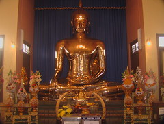 Golden Sitting Buddha in Bangkok