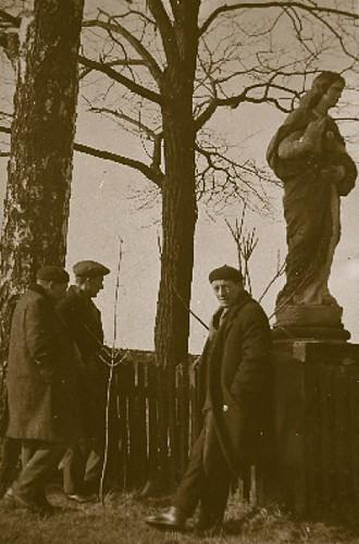 Szydłowiec, 1964r. - figura św. Barbary