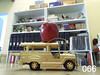 APPLE_066 (RANCHO COCOA) Tags: california food home apple fruit toy model publictransportation riverside jeep diningroom vehicle bookcase jeepney 066 mabuhay anappleaday 932am 365adayproject delacruzhomestead eaten030715