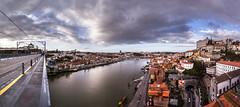 Porto from the bridge - Oporto desde el puente (tomasc75) Tags: bridge panorama portugal rio river puente sony porto panoramica douro oporto ribeira duero carlzeiss variotessar a7r domlusi donluisi alpha7r ilce7r fe1635mmf4zaoss sel1635z