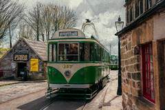 SL260416 National Tramway Museum 04 (Sh4un65_Artistry) Tags: painterly artwork transport tram places digitalpainting painteffect textured topaz paintedphoto nationaltramwaymuseum topazimpression