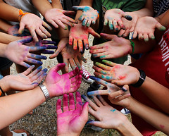 colours & hands (marti.labruna) Tags: maranatha photography picture canon 1200d eos colours colorful exposure summer hands art work friendship