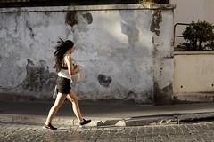 (Fulvio Frioli) Tags: nikon nikkor 50mm girl woman ragazza capelli roma rome italia italy