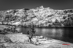 Lower Cathedral (Bob Kent) Tags: cathedral lakes tuolumnemeadows yosemite alpine sierra lake granite california canon5d canon hdr bobkentphotography bobkent 2016 tree pinetrees nature landscape mountain