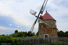 Le moulin  l'Isle-aux-Coudres (Marie-Jose Lvesque) Tags: isleauxcoudres moulin windmill t2016 summer summertime paysage qubec canada charlevoix mill