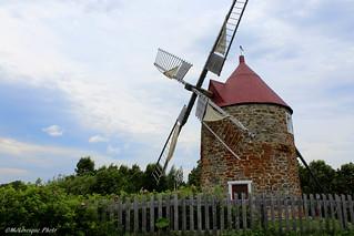 Le moulin à l'Isle-aux-Coudres