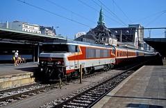 15018  Luxembourg  13.08.00 (w. + h. brutzer) Tags: luxembourg eisenbahn eisenbahnen train trains frankreich france railway elok eloks lokomotive locomotive zug 15000 sncf webru analog nikon